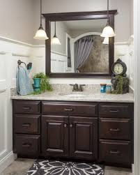 custom bathroom cabinets foxcraft cabinets