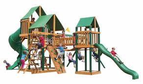 Backyard Playground Slides by Backyard Playground And Swing Sets Ideas Backyard Play Sets For