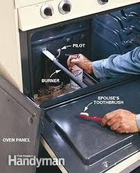oven pilot light won t light my oven won t turn on but the stove works electric oven pilot light