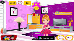 barbie room cleaner baby games video for kids 2014 room