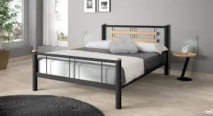 chambre a coucher style chambre à coucher métal style contemporain chambre complète