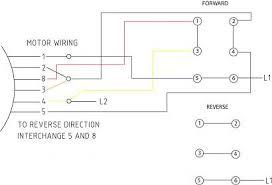 diagrams 410280 single phase motor reversing wiring diagram
