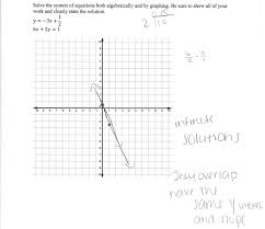 solving a system of equations 3 students are asked to solve a