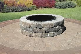 Paver Patio Kits Madera Pit Kit On Century Series Cobble Circle Kit Pavers
