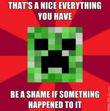 Funny Minecraft Memes - pretty funny minecraft memes creeper meme minecraft picture