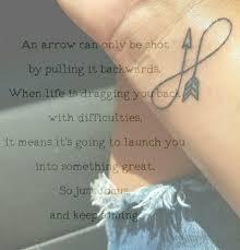 infinty arrow tattoo meaning u2026 tattoos pinterest arrow