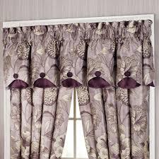 floral nouveau window treatments