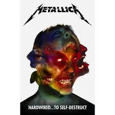 Avenged Sevenfold Flag Metallica Hardwired To Self Destruct Poster Flag Rockabilia