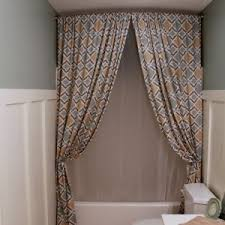 Shower Curtain For Curved Rod Bathroom Cool Curved Shower Curtain Rod For Your Bathroom Design