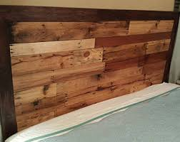 Reclaimed Wood Headboard by Queen Headboard Wood Headboard Reclaimed Wood Headboard