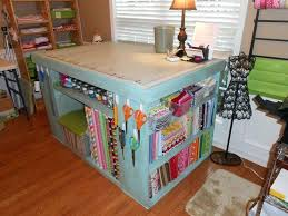 sewing cutting table ideas sewing cutting table with storage how