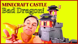 minecraft castle bad dragon mountain lego toy story videos for