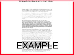 strong closing statements for cover letters essay writing service
