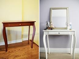 Diy Vanity Table Pop Chagne Diy Painting Vanity Table