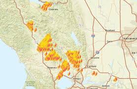 san francisco hospitals map more than 100 injured in wine country fires treated at hospitals