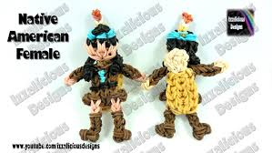 thanksgiving figures rainbow loom thanksgiving american indian