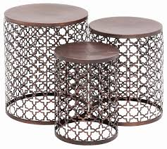 Patio Side Tables Delightful Small Patio Side Table Layouts Lakgaen