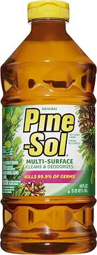 can i use pine sol to clean wood cabinets pine sol all purpose multi surface cleaner original pine 40 ounces package may vary