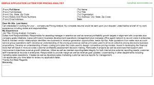 application letter for credit analyst job koka land