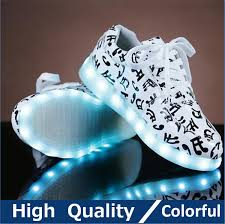 shoes with lights on the bottom men colorful glowing shoes with lights up led luminous shoes a