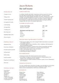 Kitchen Staff Resume Sample by Hospitality Cv Templates Free Downloadable Hotel Receptionist