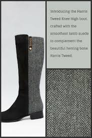 paw womens boots sale 7 best paw harris tweed knee boots images on