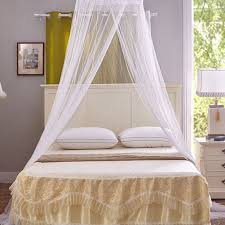 Lace Bed Canopy Amazoncom Circular Hanging Lace Bed Canopy Netting Bedroom