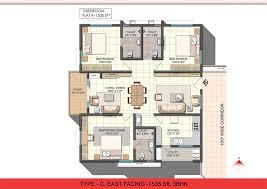 3 bhk single floor house plan glamorous 3 bhk single floor house plan pictures best inspiration