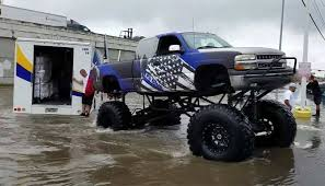 rednecks monster trucks rescue houston