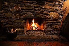 wallpapers bonfire fire fireplace stone
