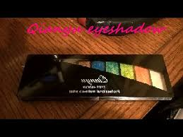 Eyeshadow Qianyu qianyu eyeshadow swatches