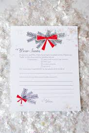 the christmas wish list dear santa christmas wish list printables the sweetest occasion