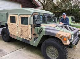 military hummer h1 oregon drivers may share roads with military surplus humvees