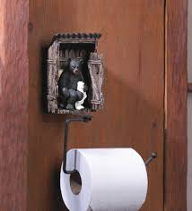 bear outhouse toilet paper holder wholesale at eastwind wholesale