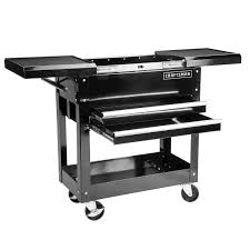 crafstman craftsman 31in 2 drawers mechanic tool cart 350lb storage drawer