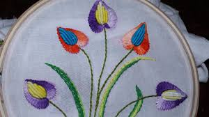 Pillow Designs by Hand Embroidery Designs Cushion Cover Design Stitch And Flower