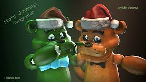 merry christmas everyone booping freddy u0027s nose by chicachickson