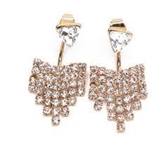 rhinestone chandelier earrings tone rhinestone chandelier earrings