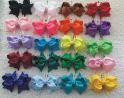 girl hair bows hair bows etsy