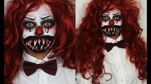 killer clown makeup halloween killer clown halloween sfx tutorial youtube