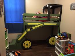 Plans For Toddler Loft Bed by Ana White John Deere Toddler Loft Bed Diy Projects