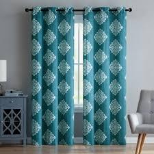 Teal Damask Curtains Damask Curtains Joss