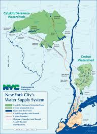 map ny city new york city s water supply system