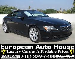 2005 bmw 6 series problems 2005 bmw 6 series 645ci 2dr convertible in los angeles ca