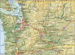 map of wa state reports for washington