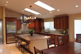 vaulted kitchen ceiling ideas vaulted ceiling kitchen lighting