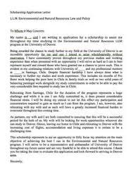 scholarship recommendation letter scholarship recommendation