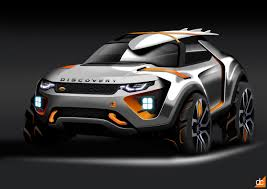 land rover concept land rover discoveryx on behance car sketch pinterest land