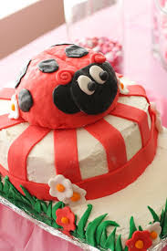 ladybug birthday cake a ladybug birthday party taste and tell