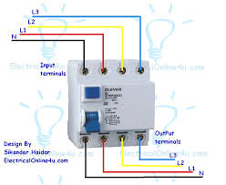 relay wiring diagram 4 pole relay wiring diagrams